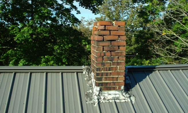 Chimney before it was replaced