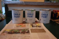 Annie Sloan Paint Cans, Kitchen Remodel, Cushing, ME