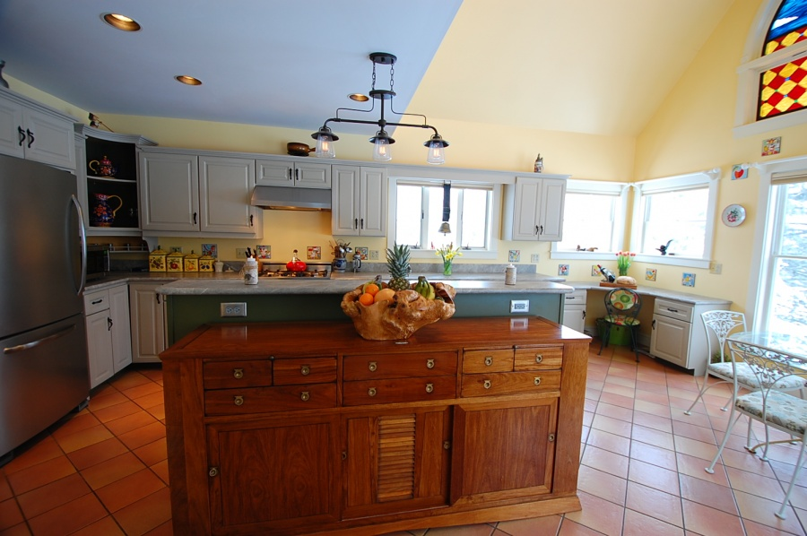 annie sloan kitchen cabinets. This  Kitchen Remodel Painted Cabinets Cushing ME Daggett Builders