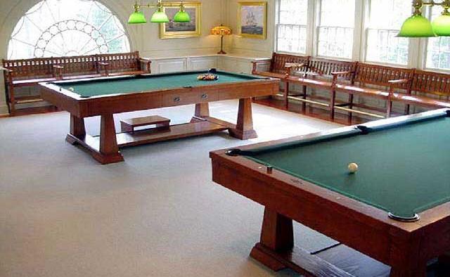Residential Billiards Room