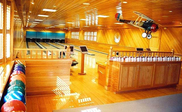 Bowling Alley for a Private Residence