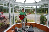 Rockport, ME Open House for Model Solarium at Plants Unlimited, Brian Spotts Performing
