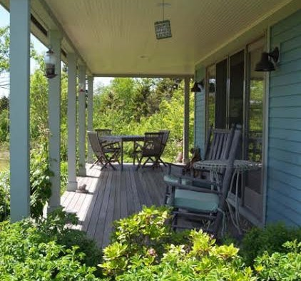 Covered Porch, Energy Efficient Home, ME, Cushing