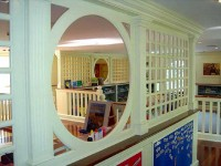Children's Craft Room in a Private Residence