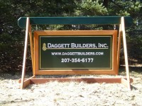 One of Our Job Site Signs