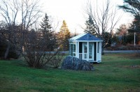 Wiscasset, ME Portable Solarium, English Conservatory Style