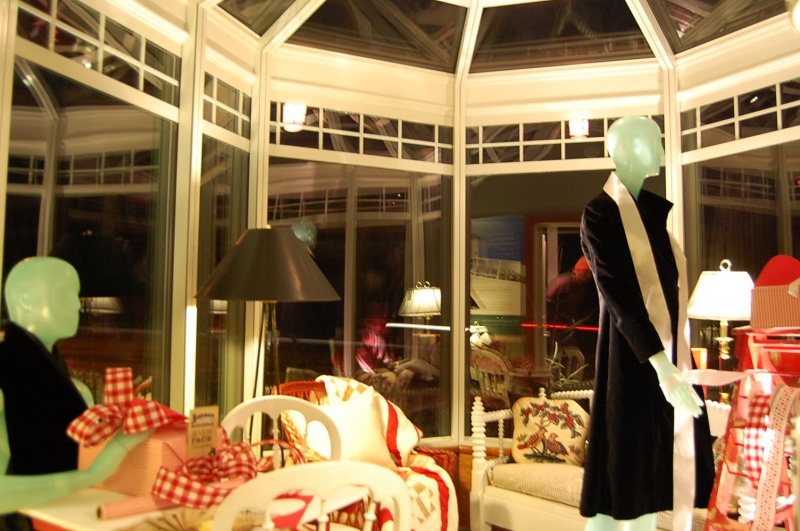 Sun Room decorated by Nobleboro Antique Exchange