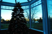 Maine, Solarium at Christmastime