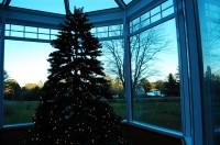 Maine, Solarium at Christmastime