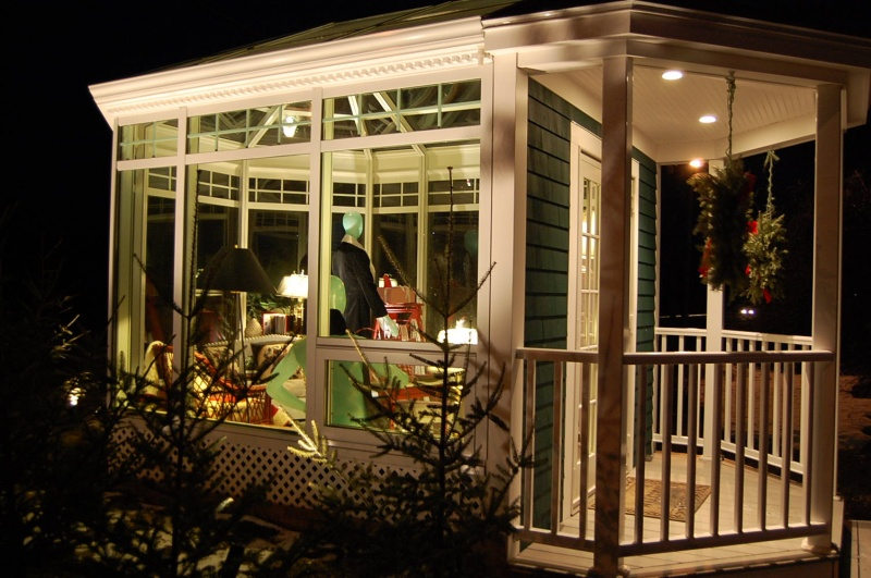 Sun Room decorated by Nobleboro Antique Exchange, ME