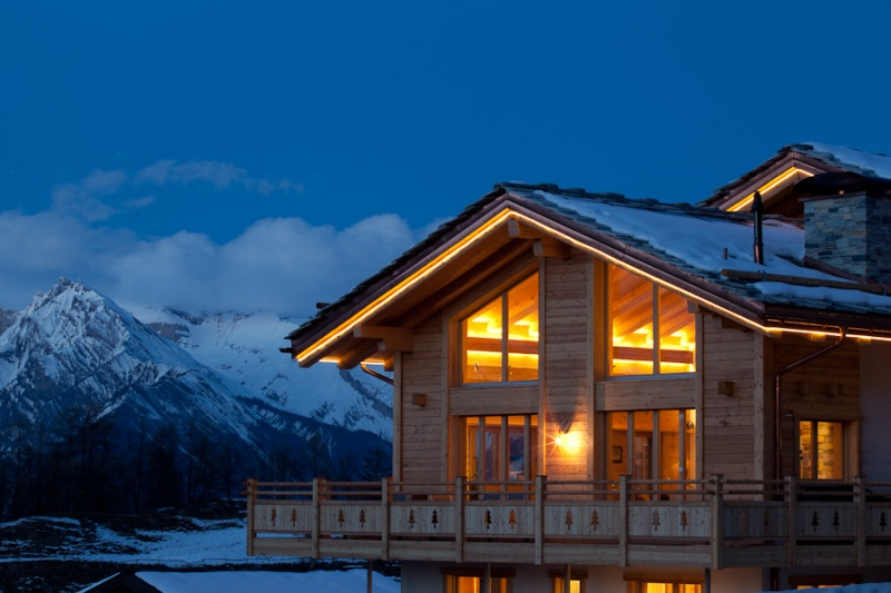 Chalet style home, Swiss Chalet Five Star Vacation Package, Haute Nendaz, Switzerland