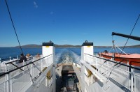 Islesboro, ME Ferry Ride, returning from a construction job