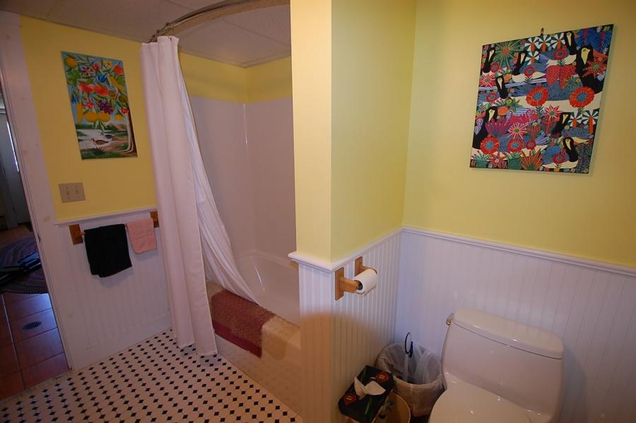 Guest bathroom, Cushing, ME Vacation Rental