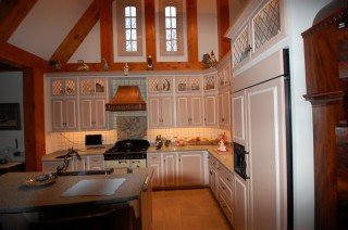 Custom Kitchen Cabinetry by Daggett Builders, Inc
