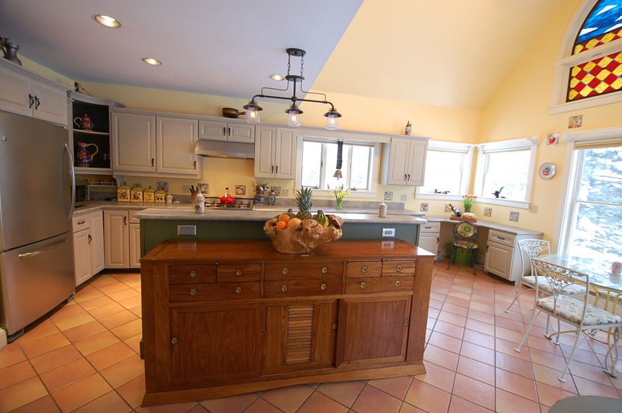 Low Cost Kitchen Remodel In Cushing, ME