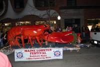 Rockland, ME Festival of Lights Parade