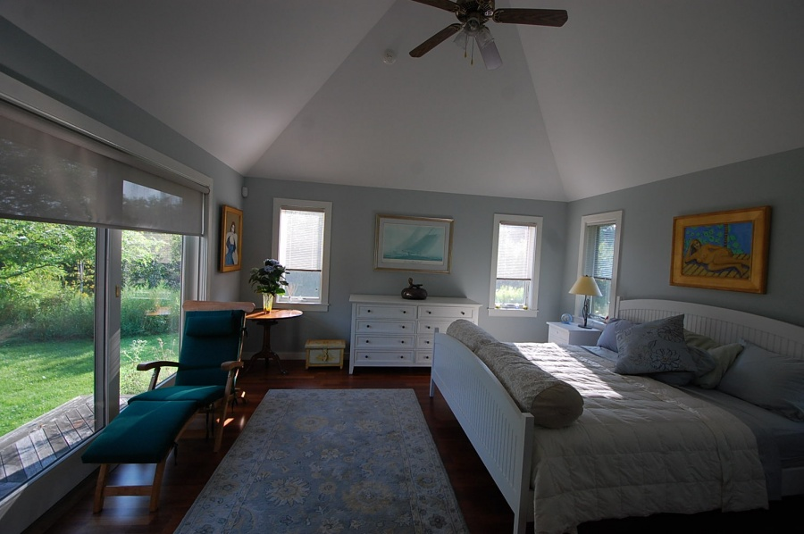 Master Bedroom Suite with Private Garden, Cushing, ME
