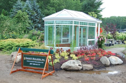 Solarium at Plants Unlimited in Rockport, ME