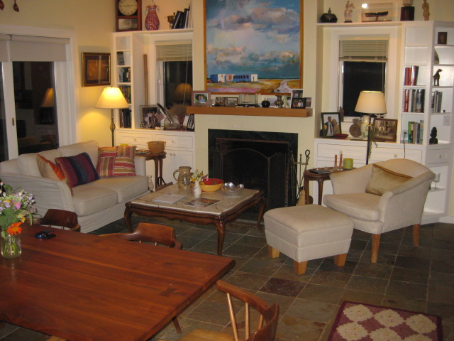 Open Living Room Dining Room, Cushing, ME