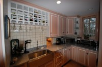 Custom Pantry Cabinets by Daggett Builders