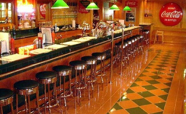 1950's residential diner