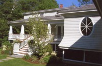 Craftsman Style Garage Addition w Apartment Above, Camden, ME