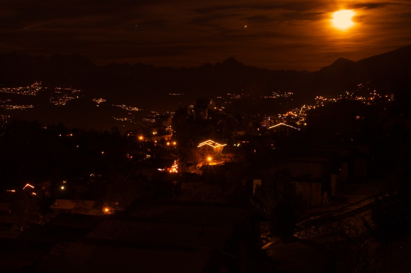 The Valais at Night