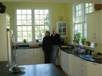 Cushing, ME Testimonial Kitchen Remodel and New Addition to Antique Cape